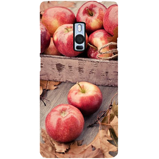 Ayaashii Many Apples Back Case Cover for One Plus Two::One Plus 2::One+2