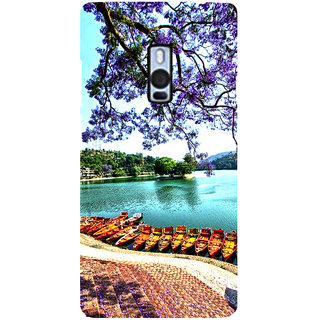 Ayaashii Nature's Click Back Case Cover for One Plus Two::One Plus 2::One+2