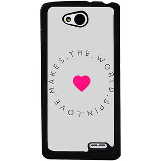 Ayaashii Makes D World Spin Love Back Case Cover for LG L90