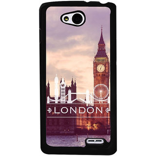 Ayaashii London Tower Back Case Cover for LG L90