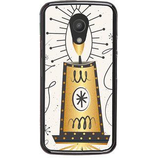 Ayaashii Chirstmas Candle Back Case Cover for Motorola Moto G2 X1068::Motorola Moto G (2nd Gen)