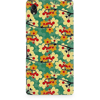 CopyCatz Floral Girl Premium Printed Case For Sony Xperia M4