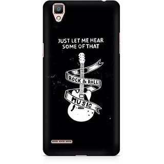CopyCatz Rock And Roll Premium Printed Case For Oppo F1 Plus