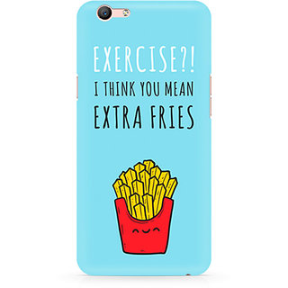 CopyCatz Extra Fries Premium Printed Case For Oppo F1S