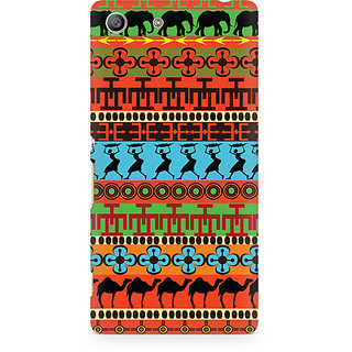 CopyCatz Brown Camel Premium Printed Case For Sony Xperia M5