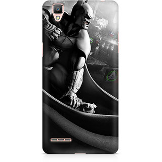 CopyCatz Batman Cloak City Fist Premium Printed Case For Oppo F1
