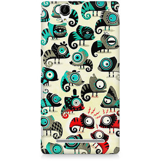 CopyCatz Christmas Love Premium Printed Case For Sony Xperia T2