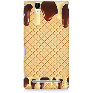 CopyCatz Chocolate Cupcake Premium Printed Case For Sony Xperia T2