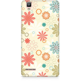 CopyCatz Floral Romance Premium Printed Case For Oppo F1 Plus