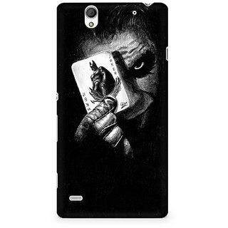 CopyCatz Injustice Face Premium Printed Case For Sony Xperia C4