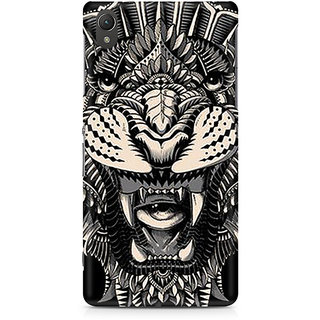 CopyCatz Abstract Fusion Hex Premium Printed Case For Sony Xperia Z2 L50W