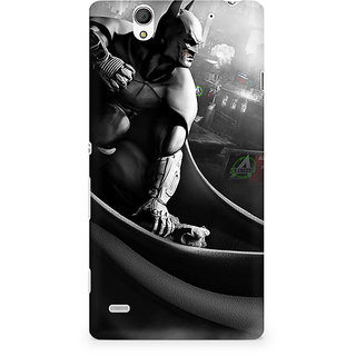 CopyCatz Batman Beyond Logo Premium Printed Case For Sony Xperia C4
