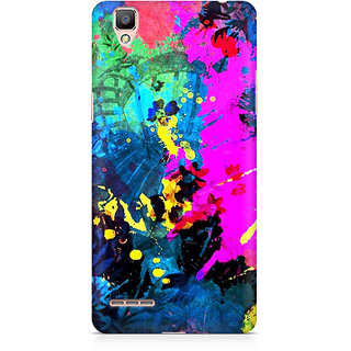CopyCatz Artful Splatter Premium Printed Case For Oppo F1 Plus