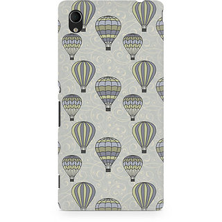 CopyCatz Stars And Balloons Premium Printed Case For Sony Xperia M4
