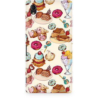 CopyCatz Cakes And Tea Premium Printed Case For Sony Xperia M4
