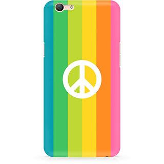 CopyCatz Colorful Peace Premium Printed Case For Oppo F1S