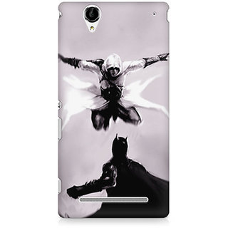 CopyCatz Captain America The Great Defender Premium Printed Case For Sony Xperia T2