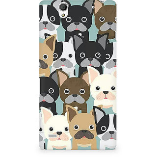 CopyCatz Delivious Lips Premium Printed Case For Sony Xperia C4