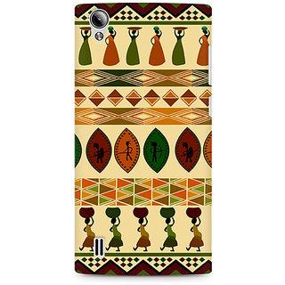 CopyCatz Colorful Village Premium Printed Case For Vivo Y15