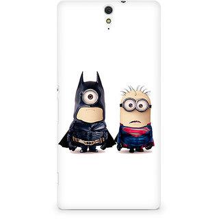 CopyCatz Batman Minimalist Premium Printed Case For Sony Xperia C5