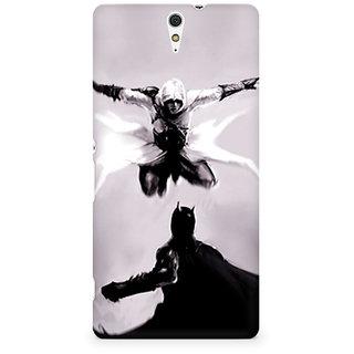 CopyCatz Captain America The Great Defender Premium Printed Case For Sony Xperia C5