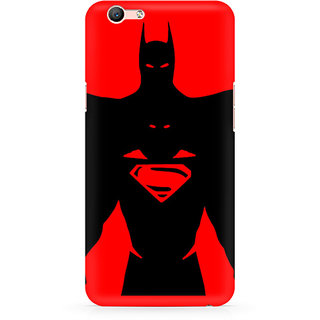 CopyCatz Superman Within Batman Premium Printed Case For Oppo F1S