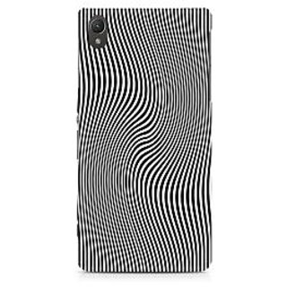 CopyCatz Concentric Squares Premium Printed Case For Sony Xperia Z5 Dual
