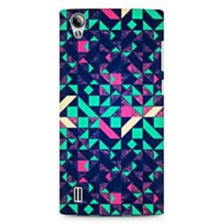 CopyCatz Abstract Colorful Premium Printed Case For Vivo Y15
