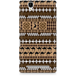 CopyCatz Tribal Tools Premium Printed Case For Sony Xperia T2