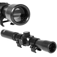 Rifle Telescope Hunting Scope Optical Riflescope 4x20 with Cross Hair for Gun