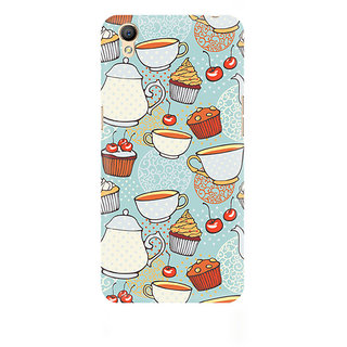 CopyCatz Cakes And Tea Premium Printed Case For Oppo A37