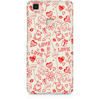 CopyCatz Heart In Hand Premium Printed Case For Vivo V3 Max