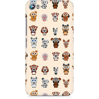 CopyCatz Big Eyes Dog Premium Printed Case For Micromax Canvas Fire 4 A107