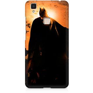 CopyCatz Batman Silhoutte Premium Printed Case For Vivo V3 Max