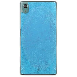 YuBingo Funky Blue Designer Mobile Case Back Cover For Sony Xperia Z5