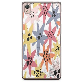 YuBingo Colourful Flowers Designer Mobile Case Back Cover For Sony Xperia Z3