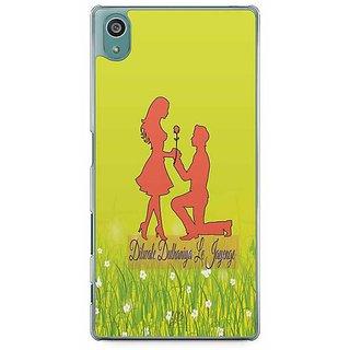 YuBingo Dilwale Dulhaniya Le Jayenge Designer Mobile Case Back Cover For Sony Xperia Z5