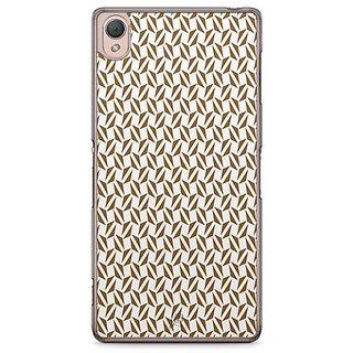 YuBingo Brown Triangle Pattern Designer Mobile Case Back Cover For Sony Xperia Z3