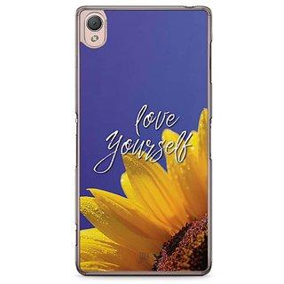 YuBingo Love Yourself Designer Mobile Case Back Cover For Sony Xperia Z3