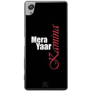 YuBingo Mera Yaar Kamina Designer Mobile Case Back Cover For Sony Xperia XA