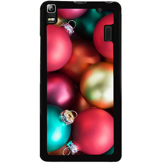 Ayaashii Chirstmas Bolls Back Case Cover for Lenovo K3 Note