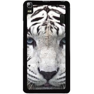 Ayaashii Tiger Face Back Case Cover for Lenovo K3 Note