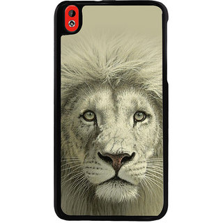 Ayaashii Lion Face Back Case Cover for HTC Desire 816::HTC Desire 816 G