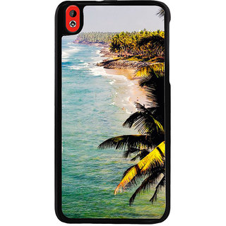 Ayaashii Beach Click Back Case Cover for HTC Desire 816::HTC Desire 816 G