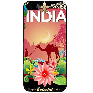 Ayaashii Simply Colorful India Back Case Cover for Apple iPhone 5::Apple iPhone 5S