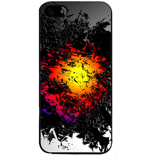 Ayaashii Animated Abstract Back Case Cover for Apple iPhone 5::Apple iPhone 5S