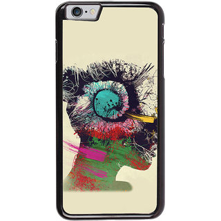 Ayaashii Animated Girl Face Back Case Cover for Apple iPhone 6S Plus