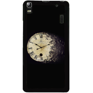 Ayaashii Roman Numbers Clock Back Case Cover for Lenovo K3 Note
