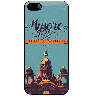 Ayaashii Mysore The City Back Case Cover for Apple iPhone 5::Apple iPhone 5S