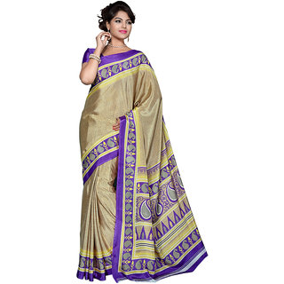 Yuvanika Multicolor Printed Art Silk Saree with Blouse-suw2026